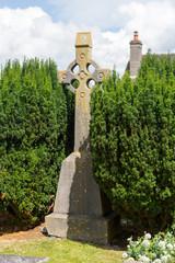 Croix Celtique dans un cimetière de Kilkenny