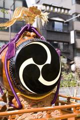 山車の太鼓