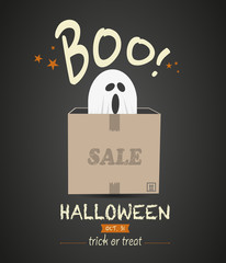 Halloween Sale Ghost