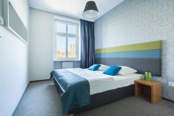 Bright bedroom in new house
