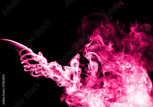 In de dag Rook Pink smoke