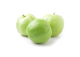 guavas  on white background