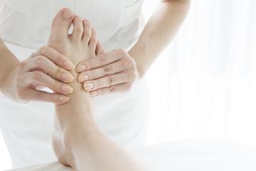 Strong massage Reflexology