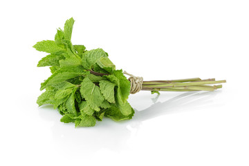 bunch of fresh mint