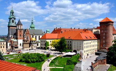 Wavel-Kathedrale und Koenigsschloss