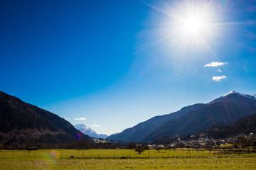 meadows of Alps