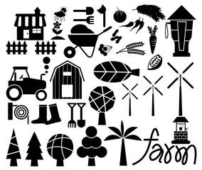 Farm Icon Vector