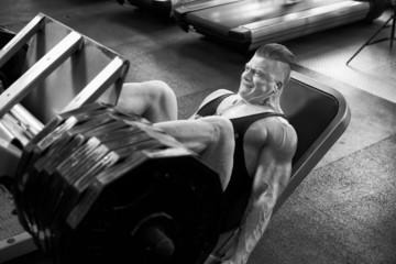Leg lifting b