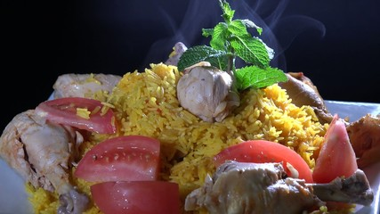 Cuban Cuisine: Rice with Chicken or Arroz con Pollo