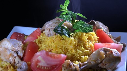 Cuban Cuisine: Rice with Chicken or Arroz con Pollo