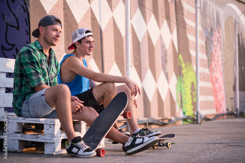 Skateboarding is not for everyone - 71626470