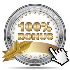 100% BONUS ICON
