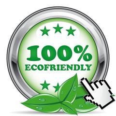 100% ECOFRIENDLY ICON