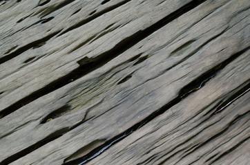 Wet crack  hard wood background
