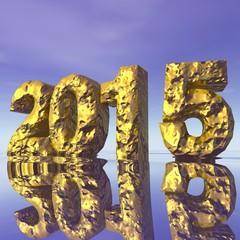 2015 - pépite d'or