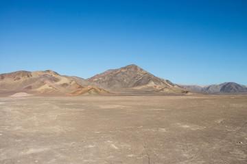 Mountains near Chauchilla Cemetery in Peru