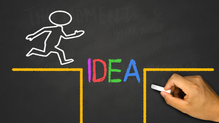 business and idea concept: Overcome The Problems