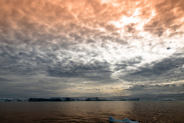 Arktis am Abend