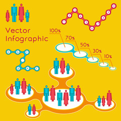 demographic infographic for presentation