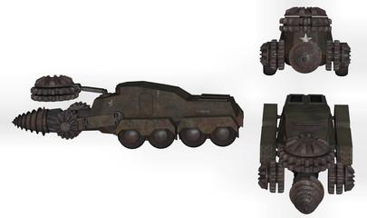 tank creuseur