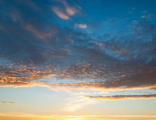 Sunset Paradise Burning Skies