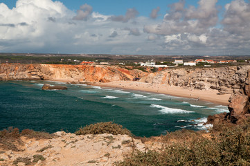 Praia do Tonel at Sagres, Portugal