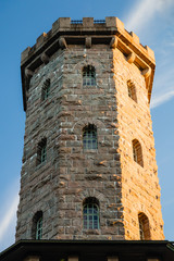 Lookout tower in the Roman style in Finland.