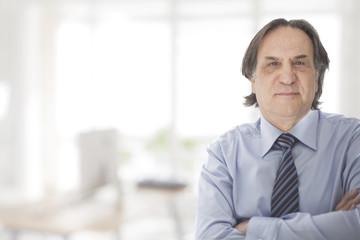 Businessman portrait in office