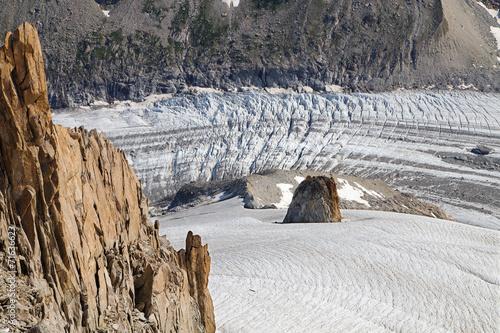 Foto op Aluminium Gletsjers Argentiere glacier