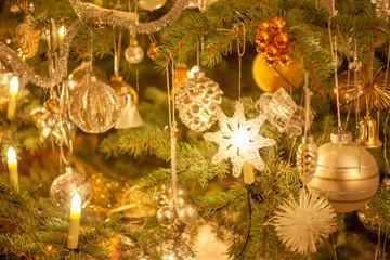 Dekoration am Weihnachstbaum