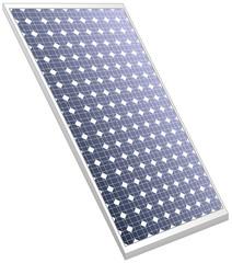 Solar panel photovoltaics ecologic white one