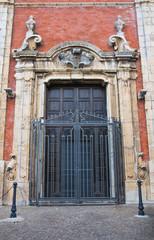 Mother Church of Assunta. Moliterno. Basilicata. Italy.