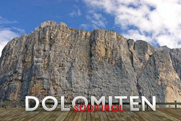 Dolomiten, Südtirol, Alpen, Italien