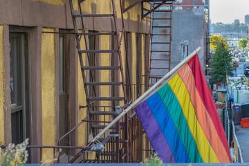 nyc pride flag