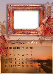 Kalender 2015 deutsch alle bundesländer NOVEMBER DIN A4