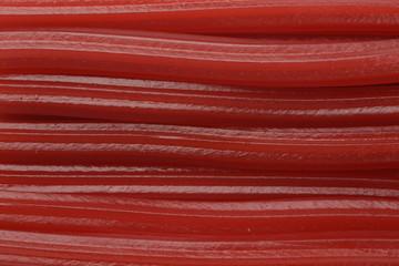Regaliz rojo en tiras