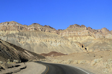 Artist Drive à Death Valley