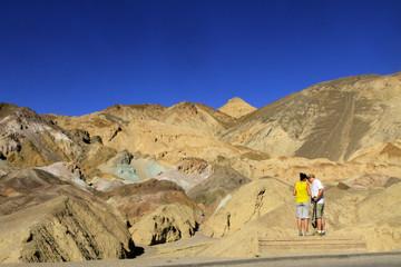 Artist Palette à Death Valley