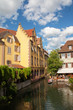 Promenade fluviale sur la Petite Venise, Colmar, Alsace