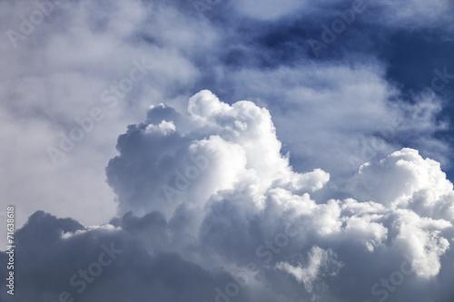 canvas print picture Wolkenformation  © Matthias Buehner
