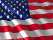 canvas print picture - old glory
