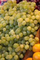 White grapes at the spanish market - Madrid