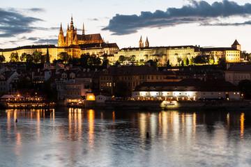 Night Prague, Czech Republic.