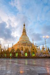 Shwedagon in sunrise