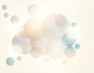 soft pastel bokeh background imagination calm vector