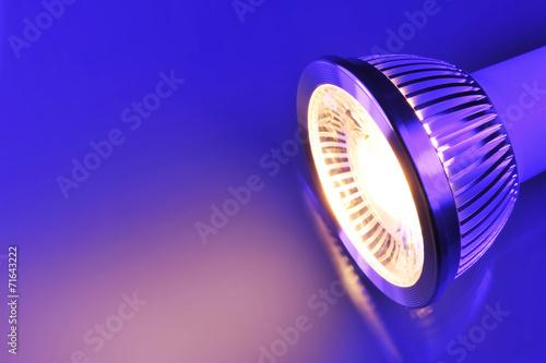 canvas print picture warmweiße COB-LED