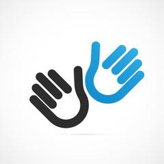 empreinte mains