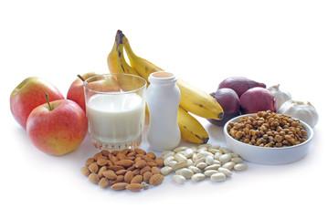 Prebiotic or probiotic foods