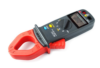 Digital clamp meter isolated