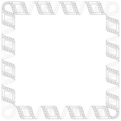 FRAME MOVIE FILM STRIP LINE